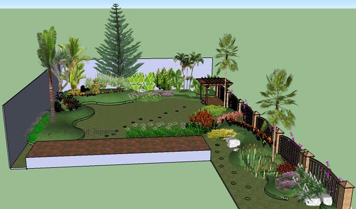 21 Images Taman Minimalis Anggrek Taman
